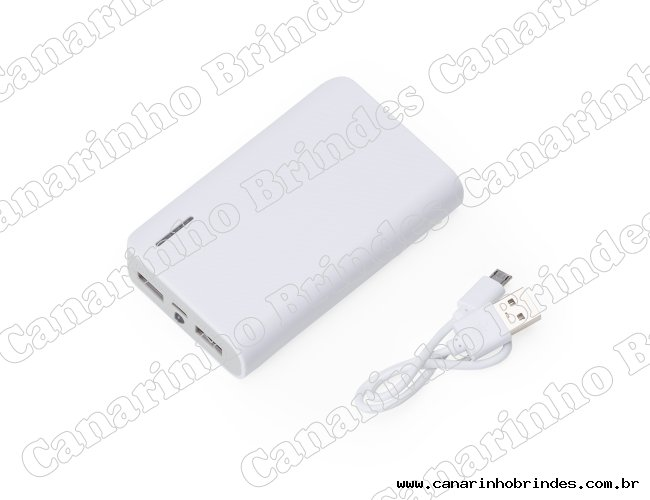 Power Bank Plástico c/ Lanterna 3878