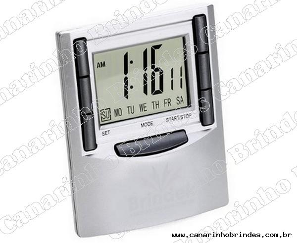Relógio de mesa quadrado-3404