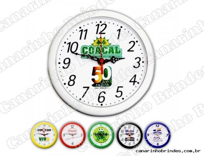 Relógio de Parede Redondo 3407