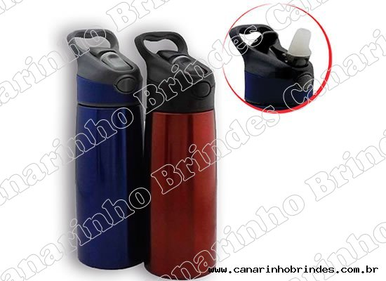 Squeeze Inox 700ml com bico - 3668