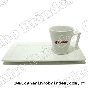 Xícara Café com Pires Longo - 1067